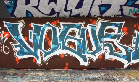 Vogue at the PSC legal graffiti wall