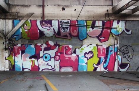 Bosny piece in the abandoned Transco