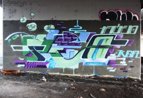 Fleo found underneath an overpass