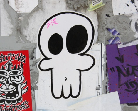 paste-up by National Zombi