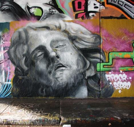 Apok at the Rouen legal graffiti tunnel