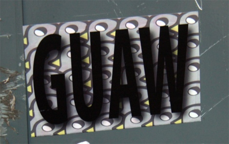 ROC514 / Guaw crew sticker