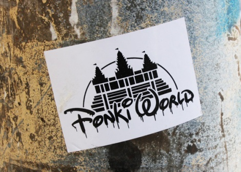 Fonki sticker