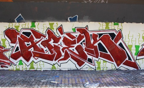 Acek at the PSC legal graffiti wall