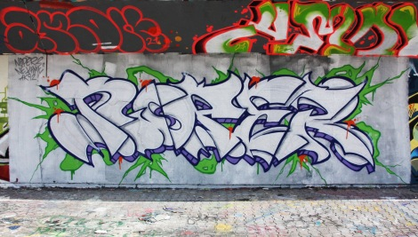 Noper at the PSC legal graffiti wall