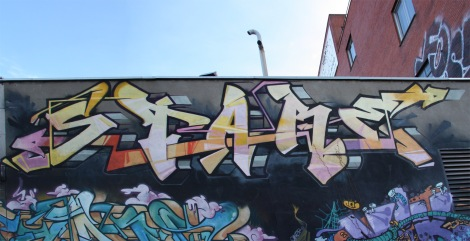 graffiti piece by Stare