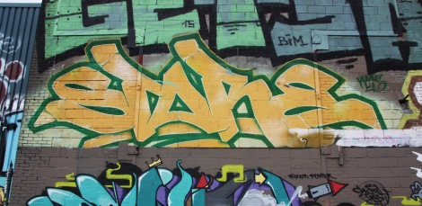 graffiti piece by Stare