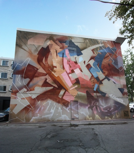 graffiti mural by Stare