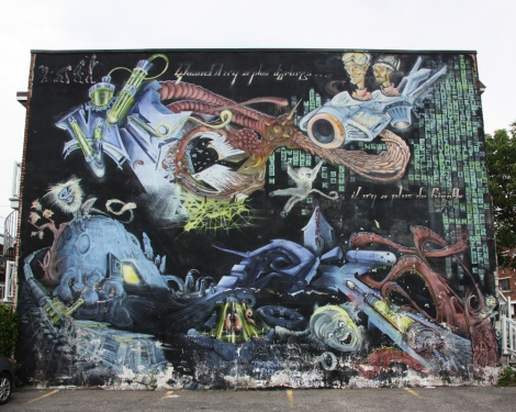 mural by Axe and Vect