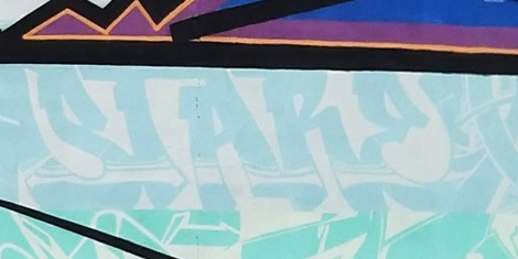 detail of the Scan You Rock tribute wall to Scaner showing Stare's part
