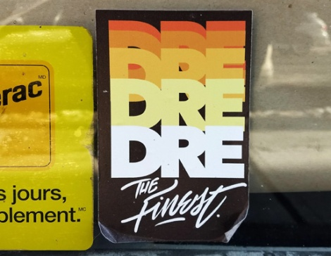 Dré sticker