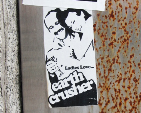 sticker by Earth Crusher
