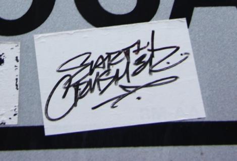 Earth Crusher sticker
