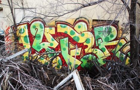 "Lyfer piece at the abandoned ""Jailspot"""