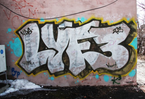 Lyfer throw in NDG