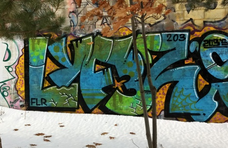 trackside piece by Lyfer
