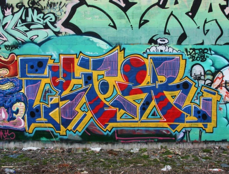 Lyfer piece in Hochelaga Maisonneuve