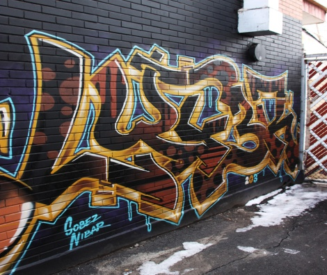 Lyfer piece in St-Henri