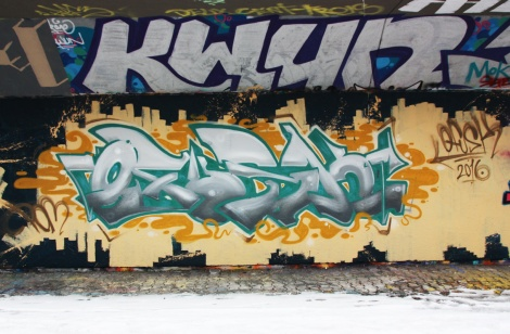 Fokus at the PSC legal graffiti wall