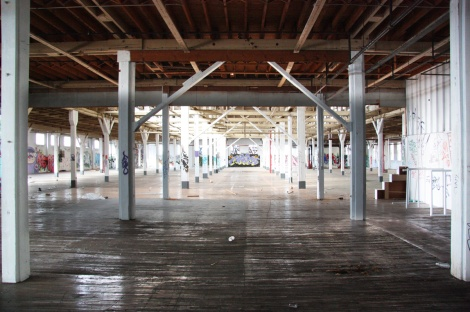 the abandoned Transco's 2nd floor - general view