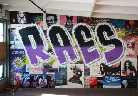 Raes on the abandoned Transco's 3rd floor