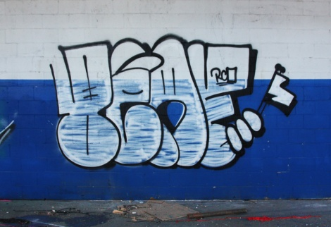 Beaf throw in the abandoned Transco's blue room