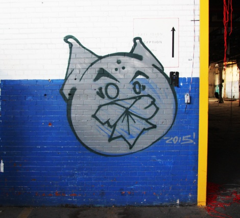 Phantom Cat by Jmoe in the abandoned Transco's blue room