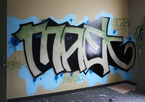 Maek in the abandoned Transco's offices