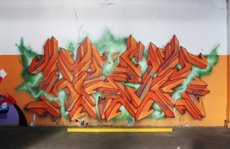 Arek in the abandoned Transco's orange room