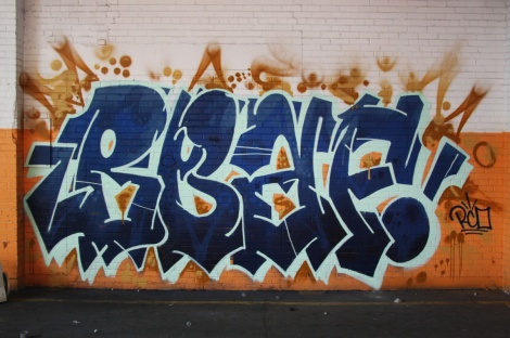 Beaf in the abandoned Transco's orange room