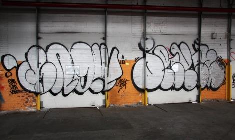 Snok and Jaker in the abandoned Transco's orange room