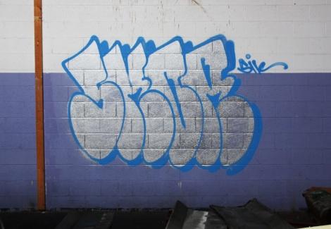 Skor throw in the abandoned Transco's purple room