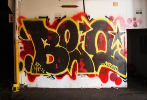 Beo in the abandoned Transco's yellow room