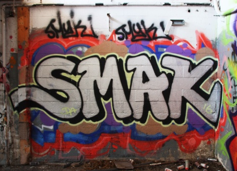Smak at the abandoned Montreal Hippodrome