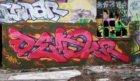 Dekor piece at the abandoned Jailspot