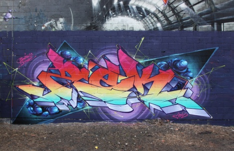 Zek piece in Hochelaga