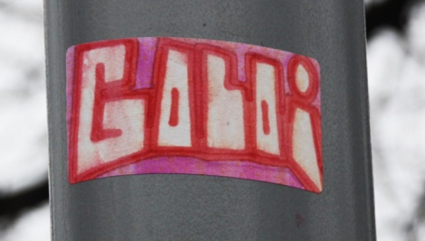 handmade sticker by Golo aka Gaulois