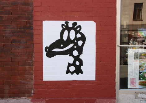 wheatpaste by Le Renard Fou found in Mile End