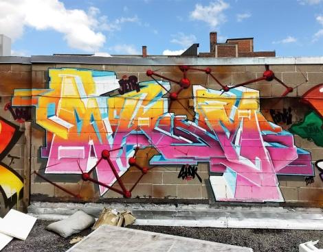 Skor rooftop piece