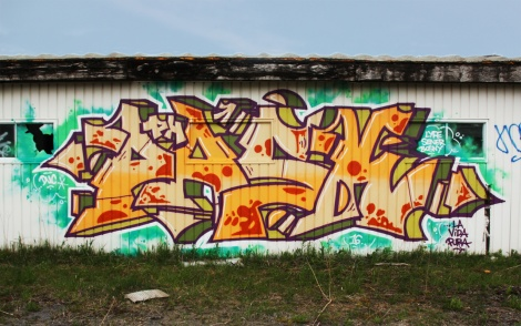 Pask piece found at the abandoned Montreal Hippodrome