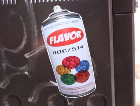 ROC514 and Flavor collaboration sticker