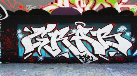 Grab at the PSC legal graffiti wall