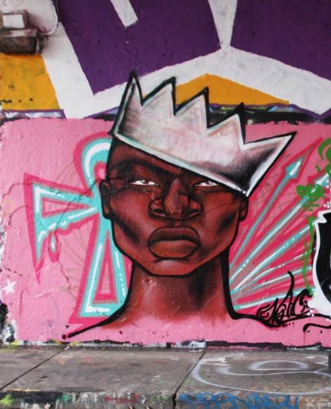 Maliciouz at the Rouen legal graffiti tunnel