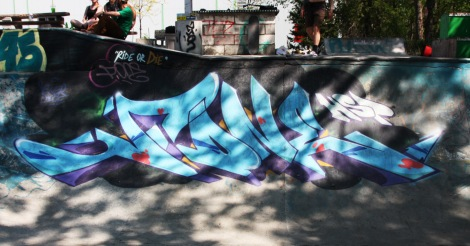 F.One at the Project45 skatepark