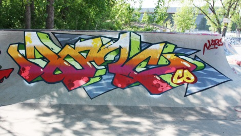 Narc at the Project45 skatepark