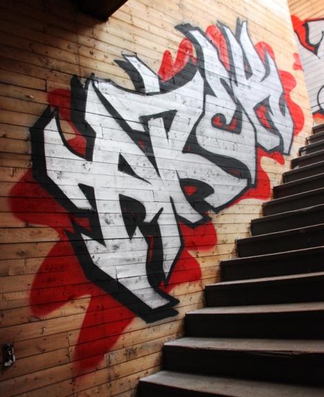 Arek in the abandoned Transco