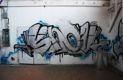Snok in the abandoned Transco
