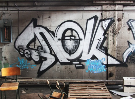Snok in the abandoned Transco