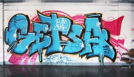 Getsa in the abandoned Transco