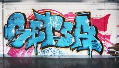 Getsa in the abandoned Transco